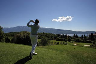 Golfparadies Gardasee in
