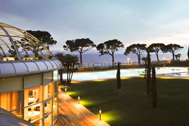 Sterne Hotel Gardasee Direkt Am See Lazise